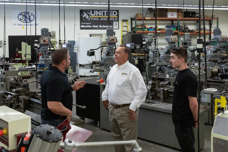 United Tool and Mold Collaboration with education