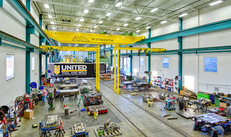 United Tool and Mold Duncan North Carolina Facility