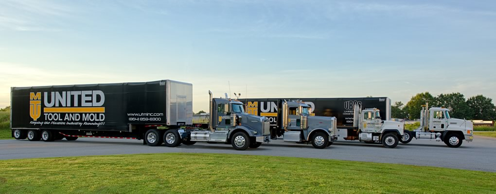 United Tool and Mold Truck Fleet